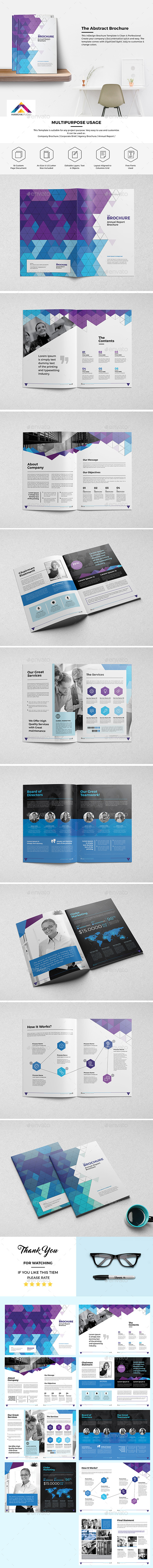 The Abstract Brochure 18 Pages - Corporate Brochures