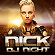 Dj Night Party  - GraphicRiver Item for Sale