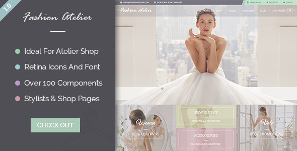 Wedding Atelier - Wedding Shop For Wedding Dress - Fashion Retail