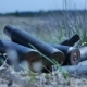 The Empty Machine Gun Shells In The Grass - VideoHive Item for Sale