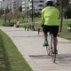 Man Cycling In The Park Outdoors - VideoHive Item for Sale