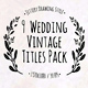 Wedding Jittery Titles - VideoHive Item for Sale