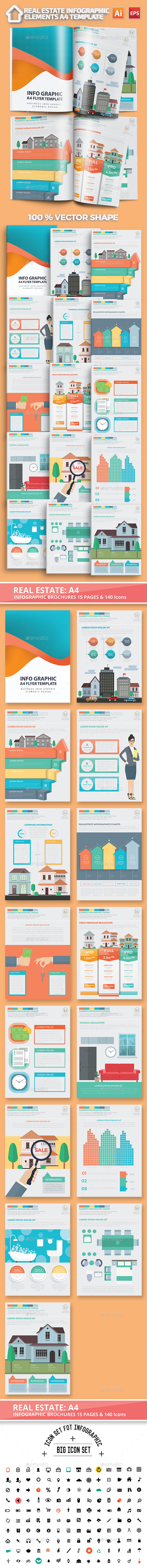 Real estate infographic Design - Infographics