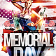 Memorial Day Flyer PSD Template - GraphicRiver Item for Sale