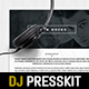 Musician / Dj Press Kit / Resume InDesign Template - GraphicRiver Item for Sale