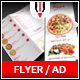 Trifold Pizza Menu / Flyer - GraphicRiver Item for Sale