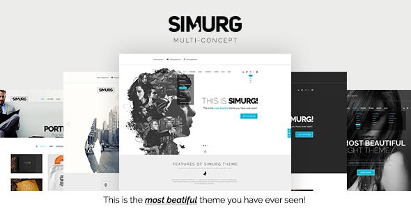 Simurg – MultiConcept Theme
