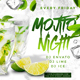 Mojito Night Flyer V4 - GraphicRiver Item for Sale