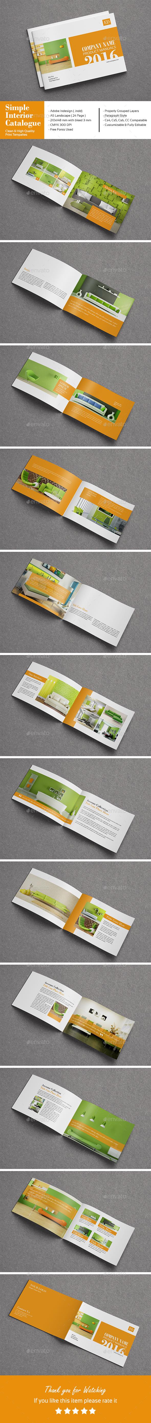 Simple Interior Catalogue - Catalogs Brochures