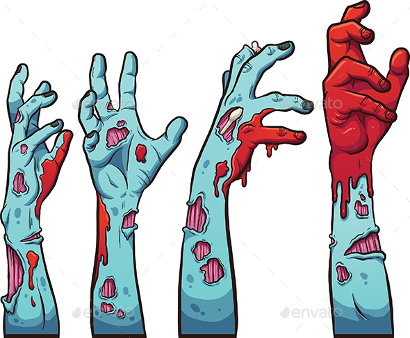 Zombie Hands - Monsters Characters