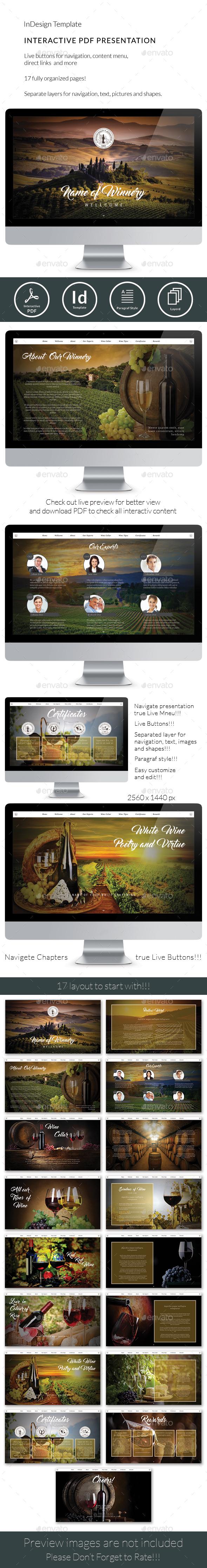 Interactive Winery Presentation - ePublishing