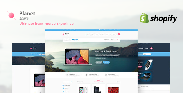 Planet Tech Store – Ecommerce Shopify Theme