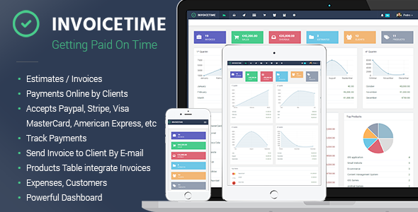 Invoicetime - Getting paid on time - CodeCanyon Item for Sale