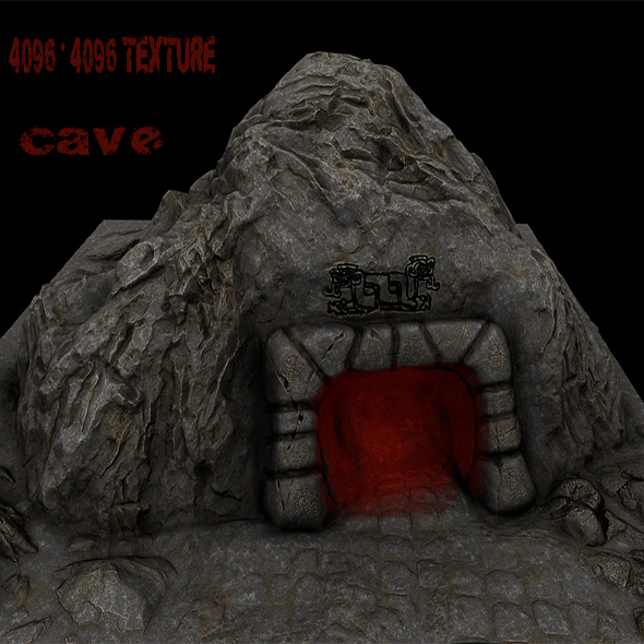 Cave_Enterance_3 - 3DOcean Item for Sale