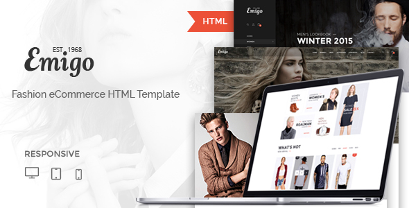 Emigo - Multi Concept eCommerce HTML Template - Fashion Retail