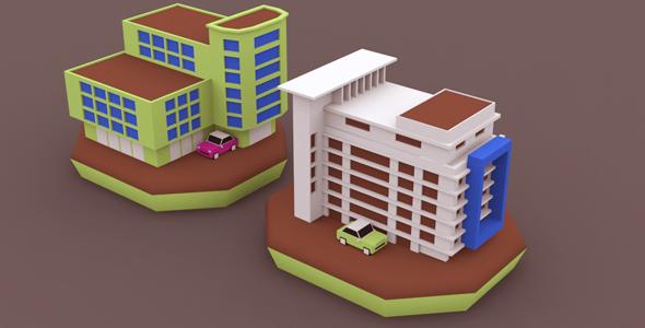 Game Building Set - 3DOcean Item for Sale