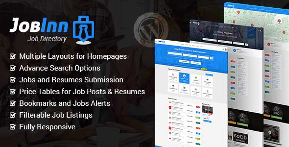 JobInn – Job Board & Directory WordPress Theme