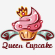 Queen Cupcake Logo - GraphicRiver Item for Sale