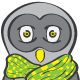 Owl Scarf Funny Kids T-shirt Design - GraphicRiver Item for Sale