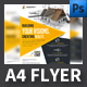 Construction Company Flyer Template - GraphicRiver Item for Sale
