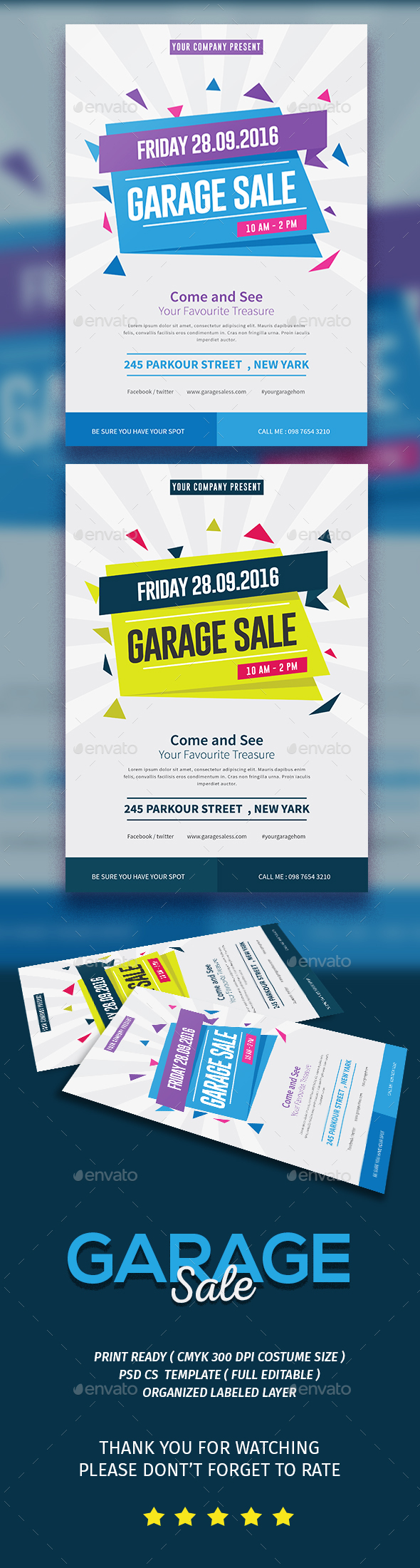 Garage Sale Flyer - Events Flyers