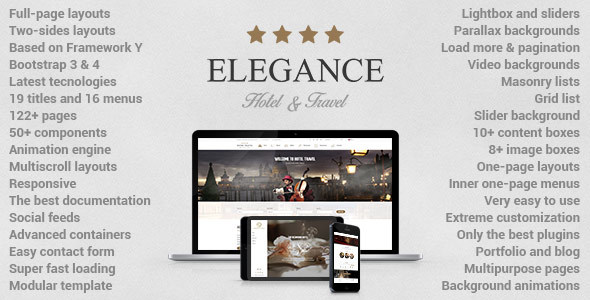 Elegance - Hotel | Apartment | Travel Template - Travel Retail