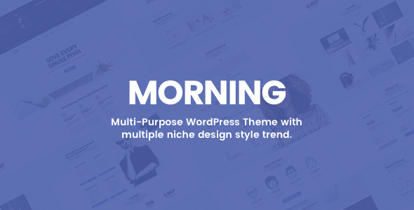 New Morning – Creative Business WordPress Theme