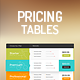Horizontal & Vertical Pricing Tables - GraphicRiver Item for Sale