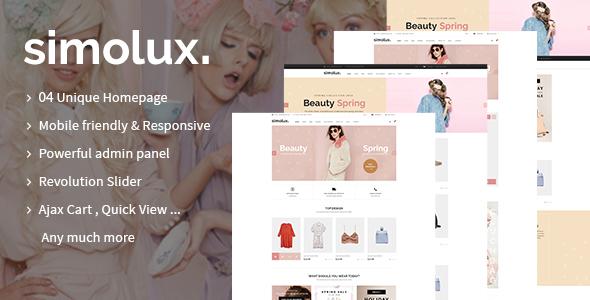 Simolux – Responsive Shopify Theme
