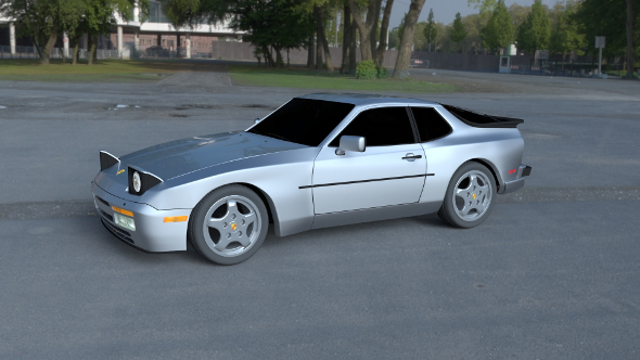 Porsche 944 Turbo S HDRI - 3DOcean Item for Sale