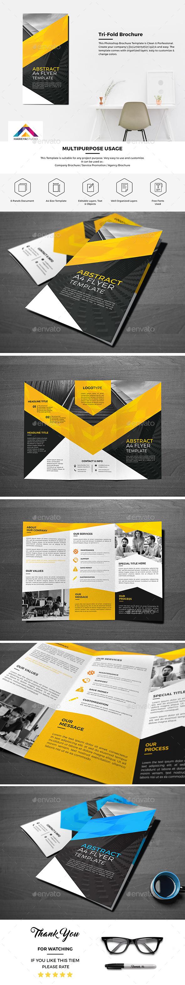 Haweya Tri-Fold Brochure 01  - Corporate Brochures