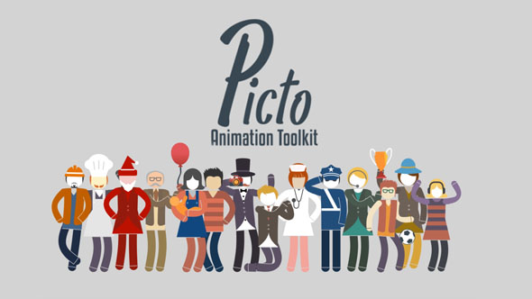 Character Design Animation Toolkit : Picto animation toolkit by pixamins videohive
