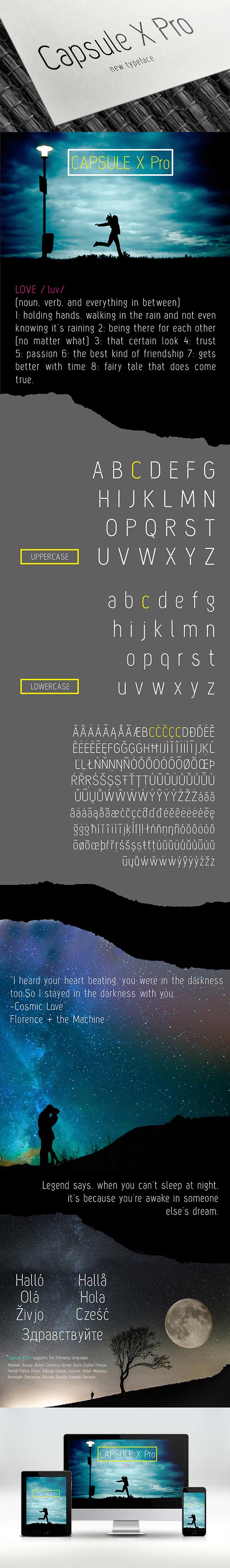 Capsule X Pro Font - Regular - Sans-Serif Fonts