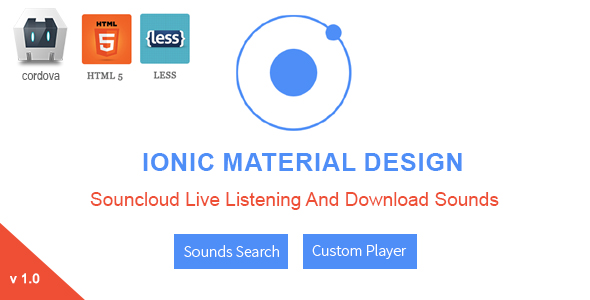 SC Media - Ionic Full Application For Live Listening  - CodeCanyon Item for Sale