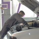Man Fixing Car in Garage - VideoHive Item for Sale