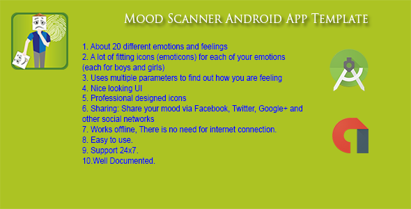Mood Scanner Android Aapp - Admob  - CodeCanyon Item for Sale