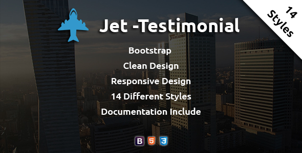 Jet - Testimonial - CodeCanyon Item for Sale