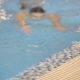 Smiling Athletic Swimmer At Swimming Pool - VideoHive Item for Sale