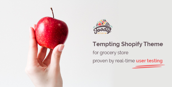 Foodly - One-Stop Shopify Grocery Shop