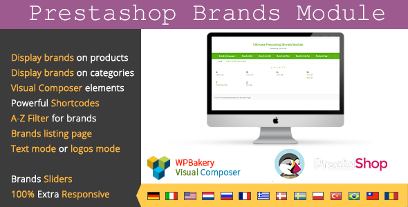 Brands Module For Prestashop Visual Composer - CodeCanyon Item for Sale