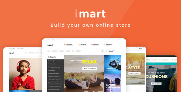 Image of iMart - Multipurpose Prestashop Theme 1.6 and 1.7