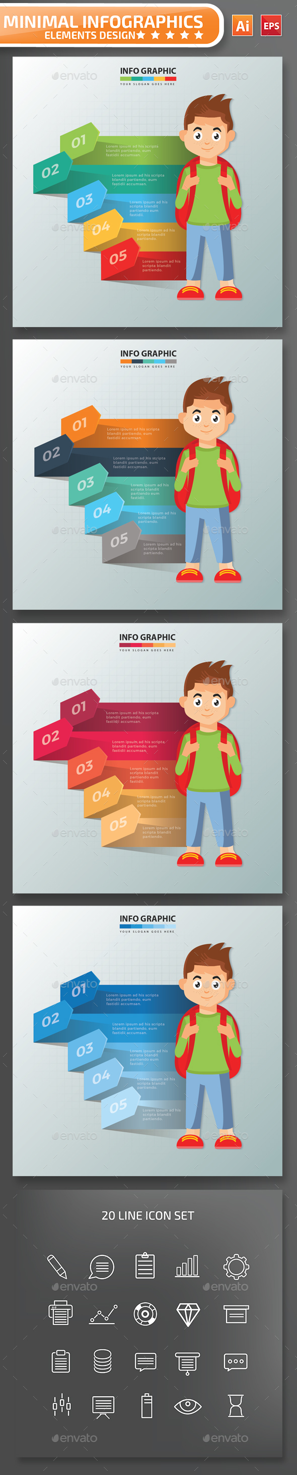 Student infographic Design - Infographics