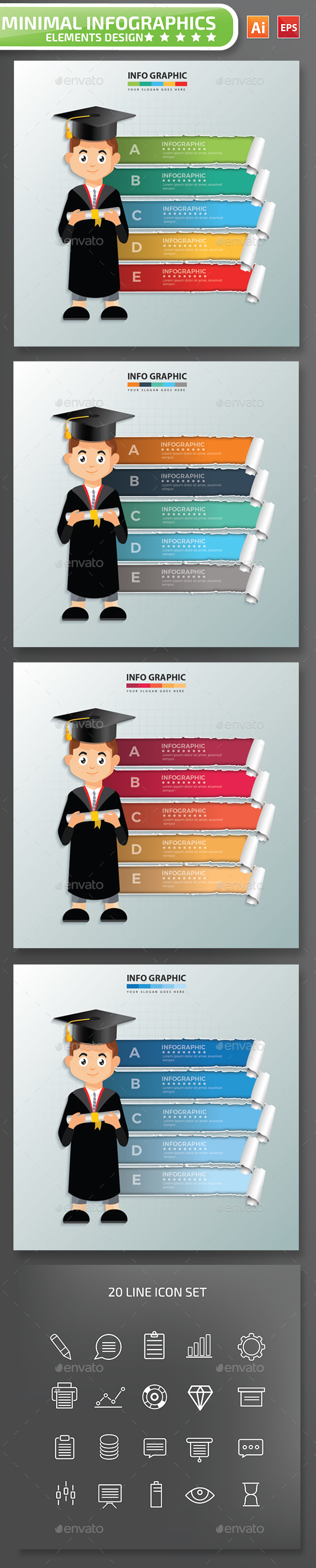 Education Infographic Design - Infographics