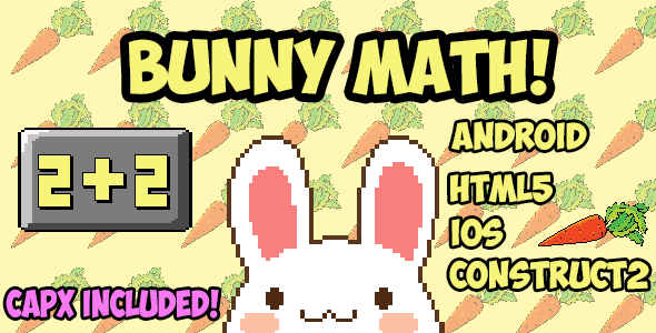 Bunny Math - CodeCanyon Item for Sale