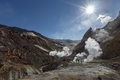 Fumarole, Hot Spring in Crater Active Volcano