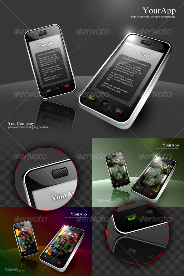 smart phone apps presentation - Mobile Displays