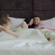 Happy Family Lying On Bed At Home - VideoHive Item for Sale