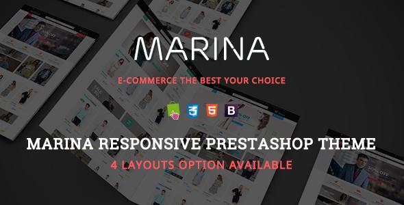 Marina - Responsive Prestashop Theme