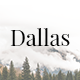 Dallas - Minimal Portfolio Template