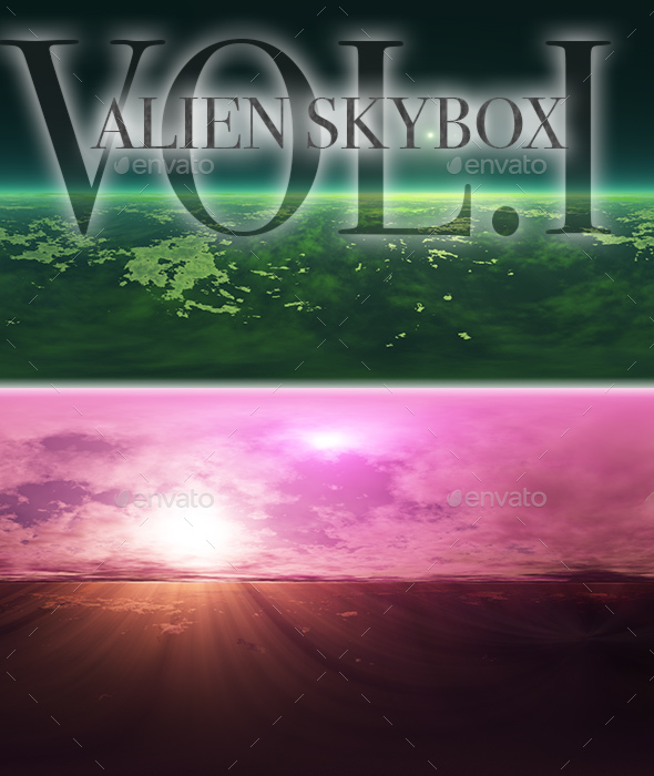 Alien Skybox Pack Vol.I - 3DOcean Item for Sale